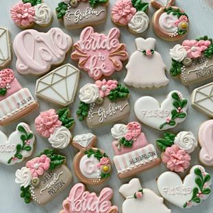 Griffin Wedding Shower Cookies | Simply Renee Sweets