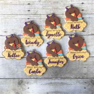 Fall 2017 Decorated Cookies