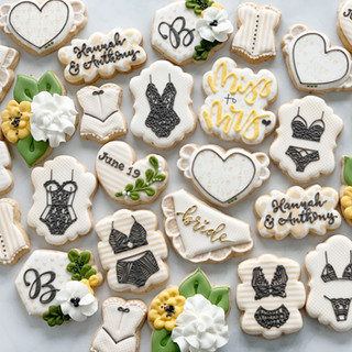 Bridal Shower lingerie Cookies