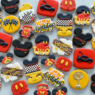 Roadhouse Mouse Birthday Cookies