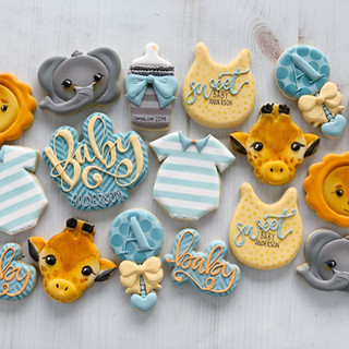 Safari  Baby Cookies | Simply Renee Sweets