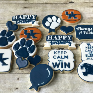 University of Kentucky Birthday Cookies | Simply Renee Sweets