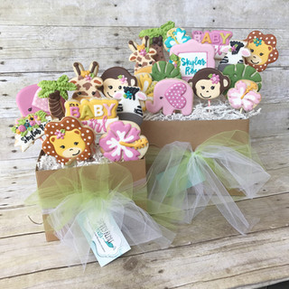 Baby Shower  Cookie Bouquet | Simply Renee Sweets