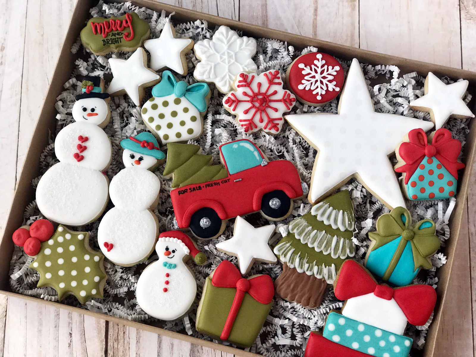 Christmas 2017 Decorated Cookies