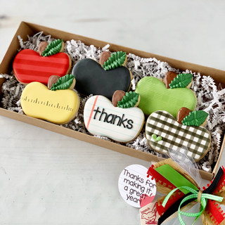 Teacher Appreciation Apples Gift Box | Simply Renee Sweets
