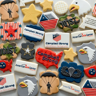Campbell Strong Logo Cookies