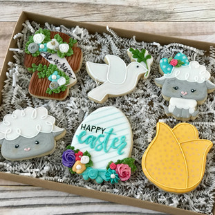He Is Risen Decorated Cookies