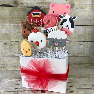 Birthday Cookie Bouquet | Simply Renee Sweets