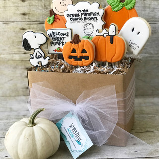 Happy Birthday - The Great Pumpkin  Cookie Bouquet | Simply Renee Sweets