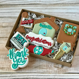 Exit Real Estate Group Welcome Home Cookies