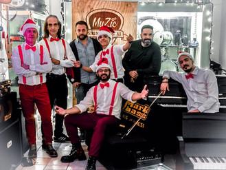 Back stage delle riprese per il videoclip natalizio