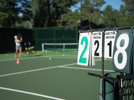 ジュニアテニス選手の目標設定とメンタル強化。自分に自信を持ちたい。
