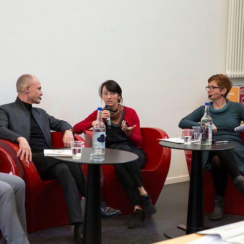 """Panel Discussion on """"Making Switzerland sustainable"""""""
