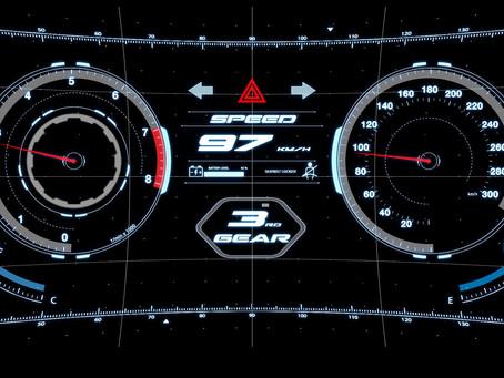 自動車メーターパネルのデザイン・映像化