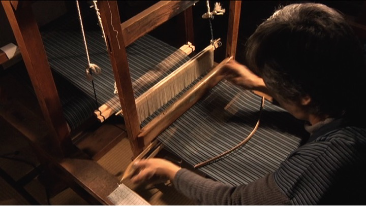 歴史を伝える知多木綿