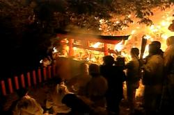 お燈祭り(三重県新宮・神倉神社)