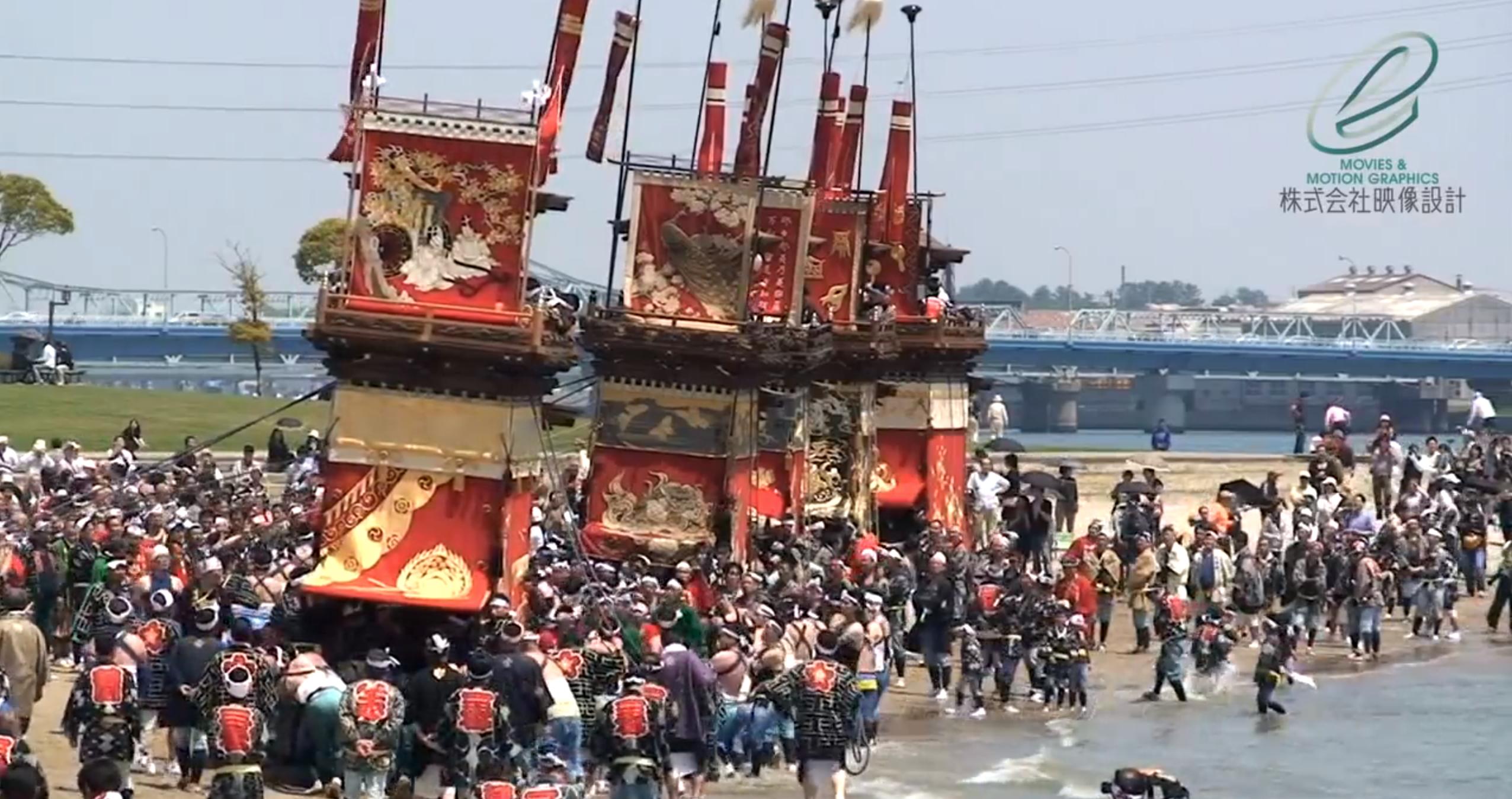 潮干祭(愛知県半田市亀崎)