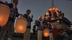 廻船の要衝として栄えた内海の神楽船祭り