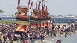 伝統の山車祭り・亀崎潮干祭