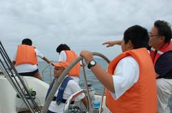 海陽学園体験乗船会