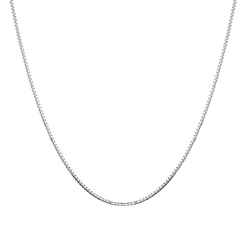 Silver Box Chain, Handmade Jewellery Online