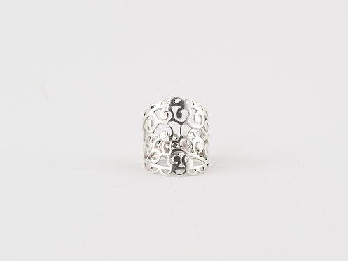 Handmade Filigree Ring Silver