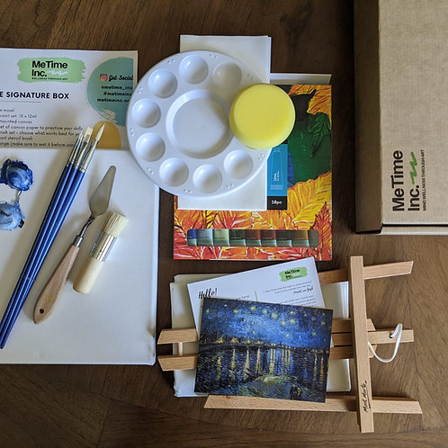 'Van Gogh' Signature Art Box & Tutorial