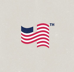 Designed American Flag