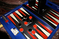 Jacob & Co Backgammon made by Naldi-Ital