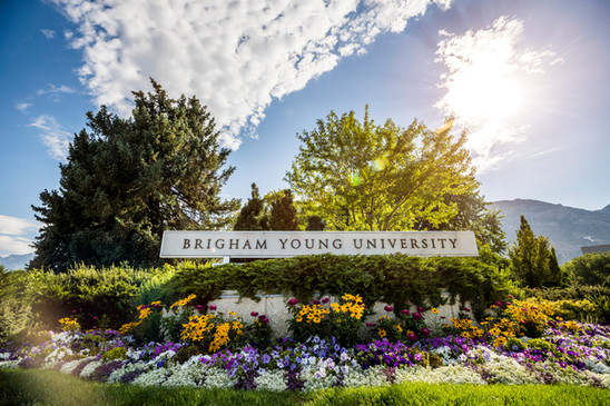 BYU Main Entrance