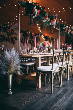 Pampass Grass Reception Decor