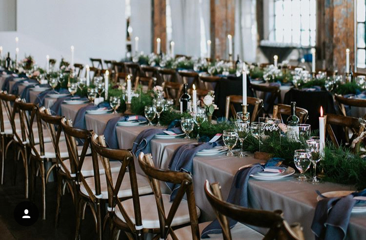 Guest Table garland