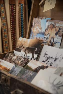 postcards and lappish belts