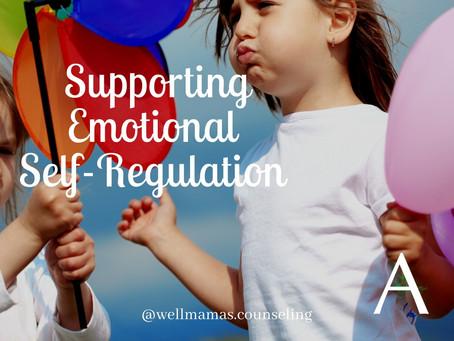 Supporting Emotional Self-Regulation in Children