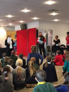 Our E-safety cadets visited an E-safety Roadshow. They had a fantastic day learning how to make sure we are all safe online.