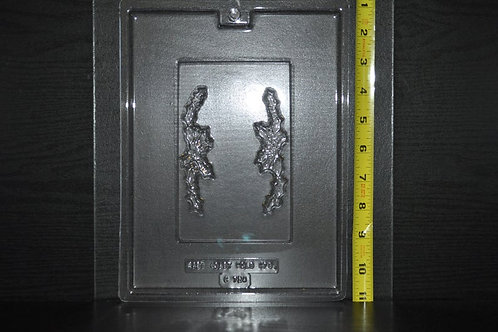 Holly Plaque Mold