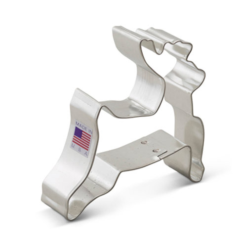 Leaping Reindeer Cookie Cutter