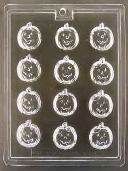 Jack O' Lantern Pumpkin Bite Size Mold