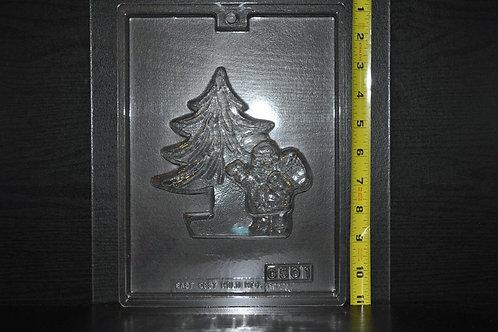 Flat Tree & Santa Mold