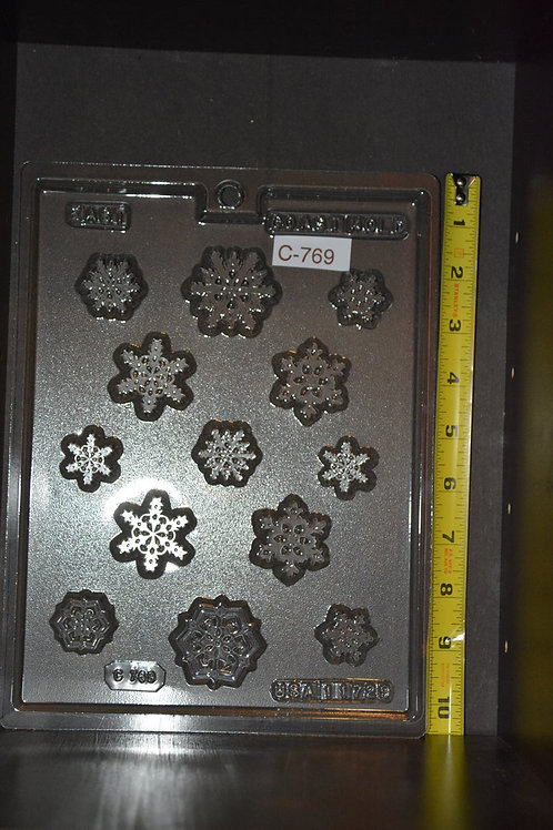 Bite Size Snowflake Mold