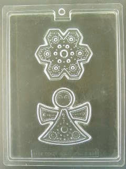 Lace Angel & Star Mold