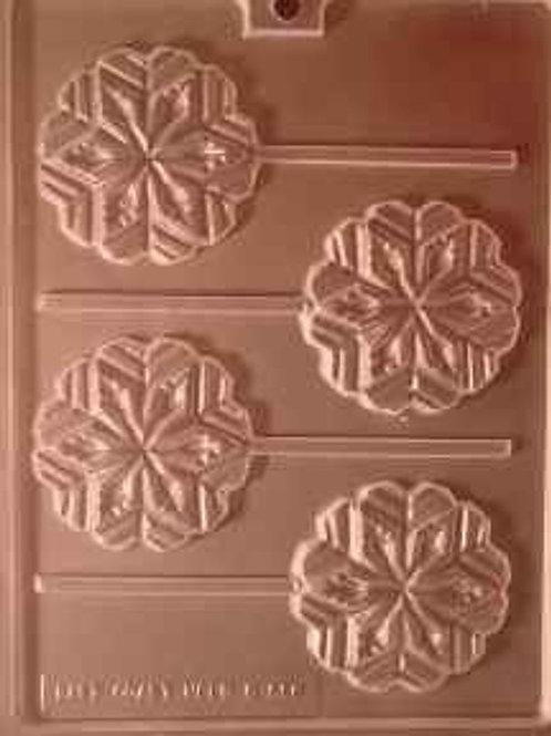 Snowflake Lollipop Mold