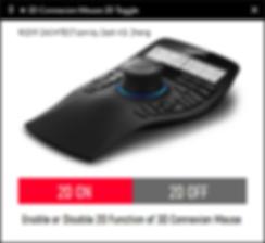 3D Connexion Mouse 2D Switch Highlight.P