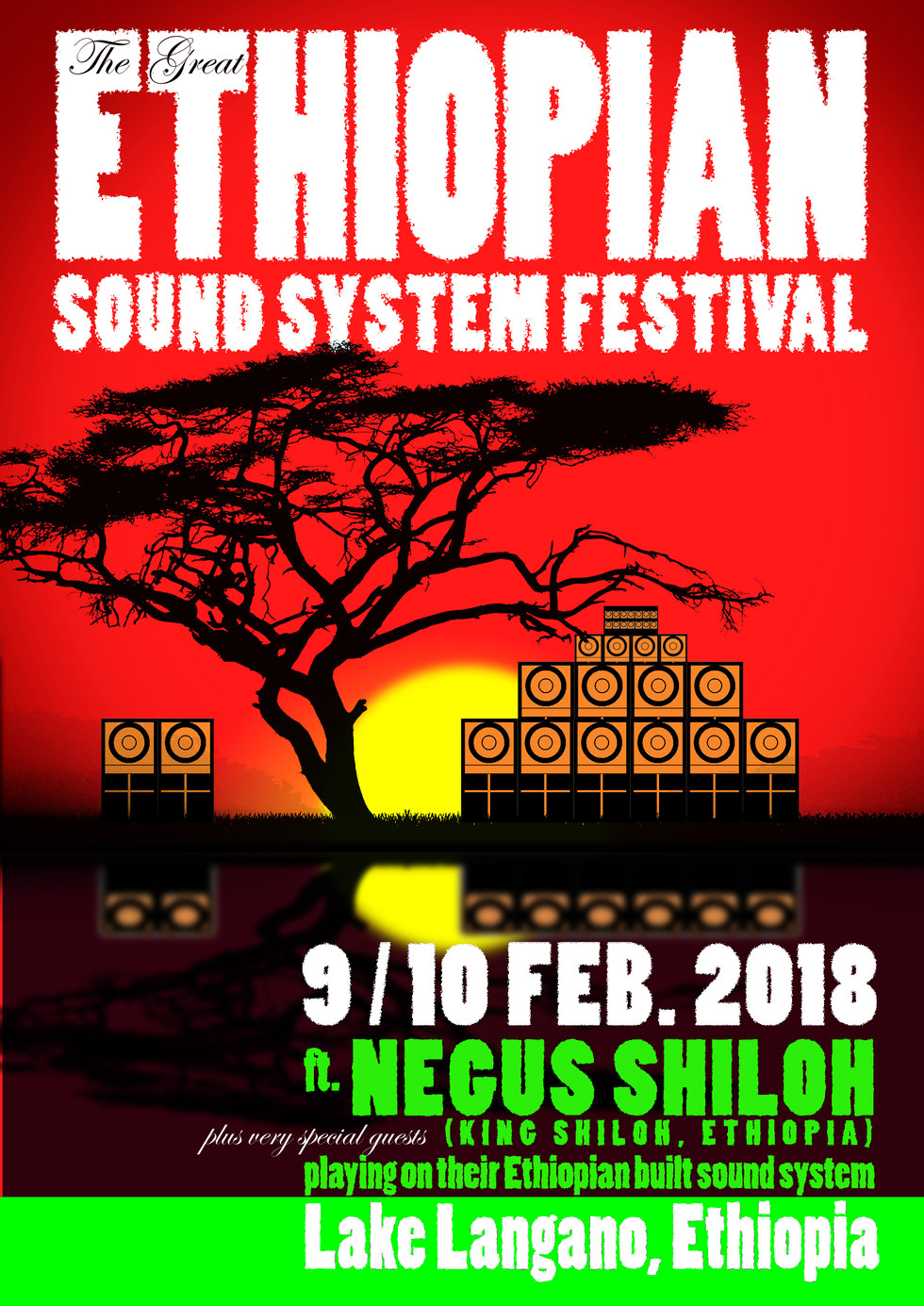 King Shiloh presents: The Great Ethiopian Soundsystem  Festival!
