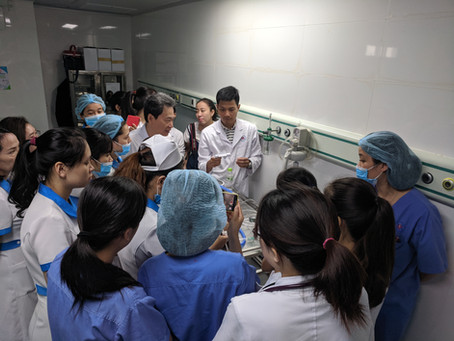 Presentations in Vietnam