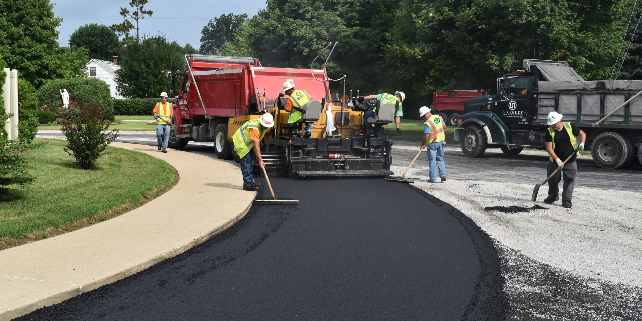 L Keeley Construction Paving General Con