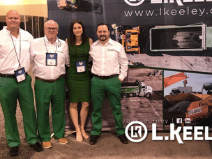 L. Keeley Paving Attends IFMA's World Workplace 2019