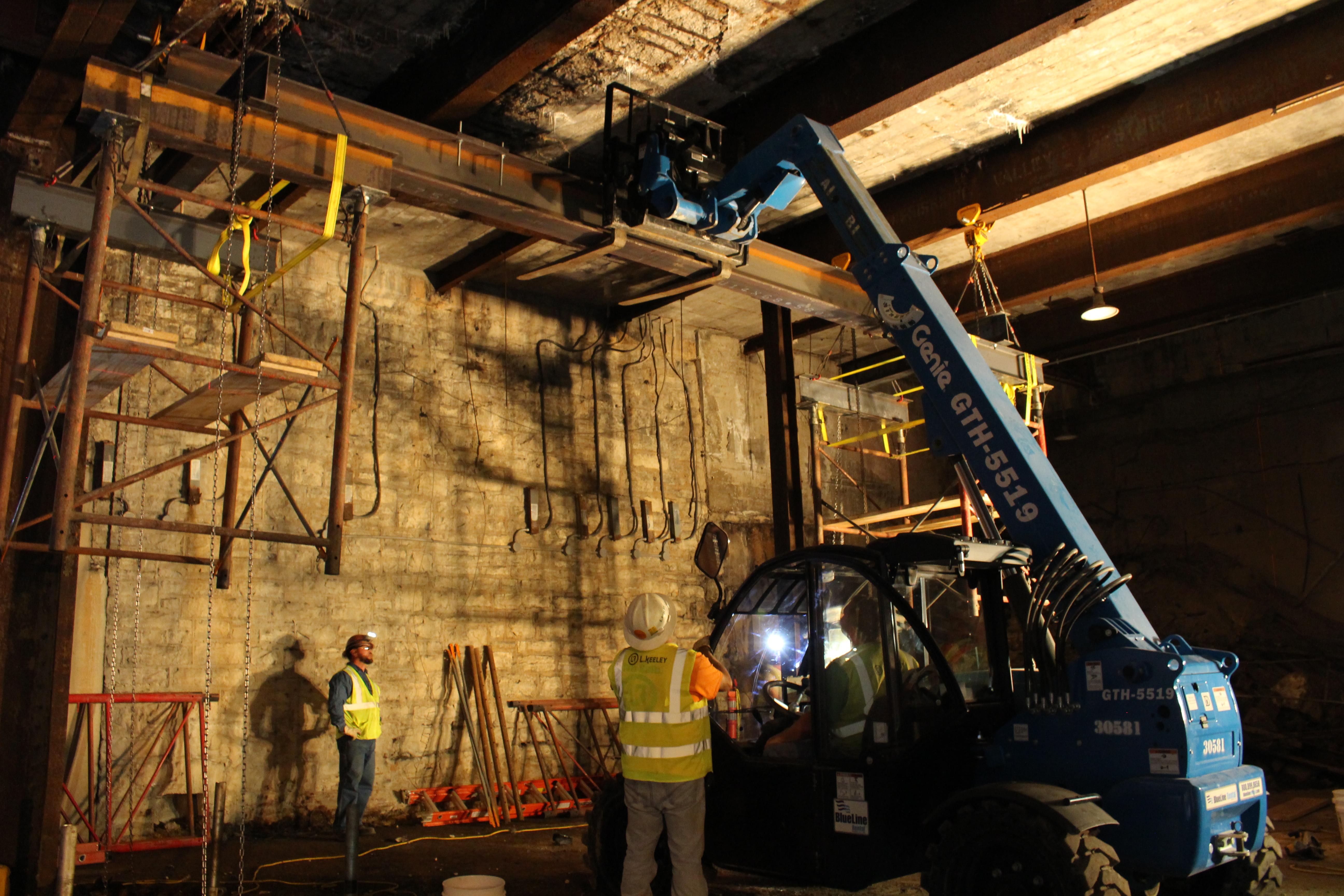 Metrolinke Tunnel Shoring 2017-108