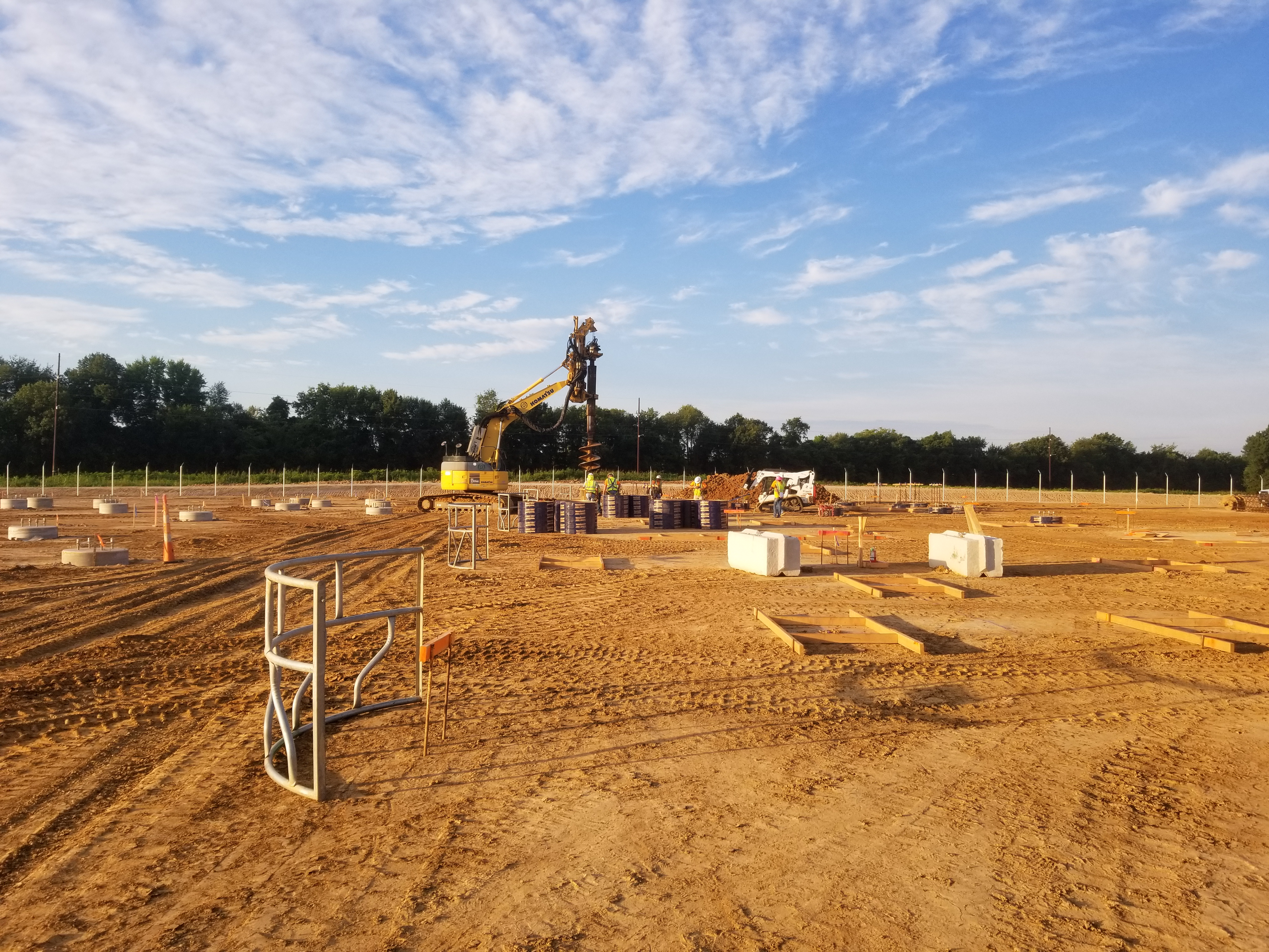 L Keeley Heavy Civil Flatwork for Mastercard