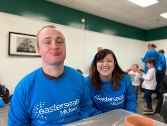 #KeeleyCares: Easterseals + World Wide Technology